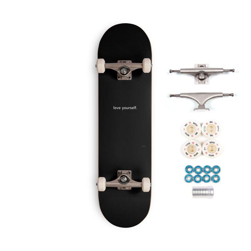 LOVE YOURSELF #4 Accessories Complete - Premium Skateboard by Eric Washington's Merch Shop