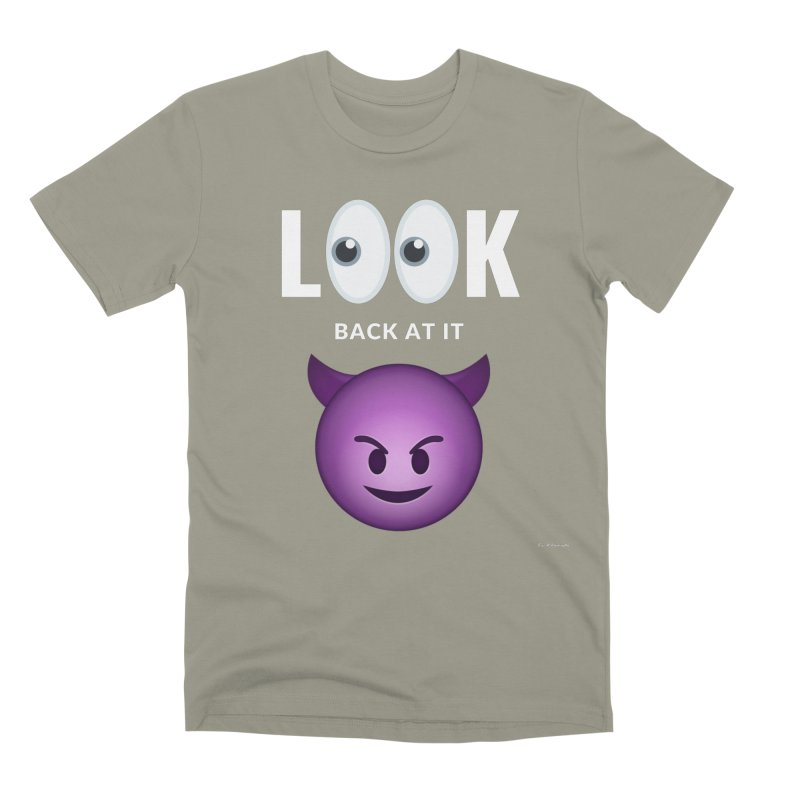 I See You... Men's Premium T-Shirt by Eric Washington's Merch Shop