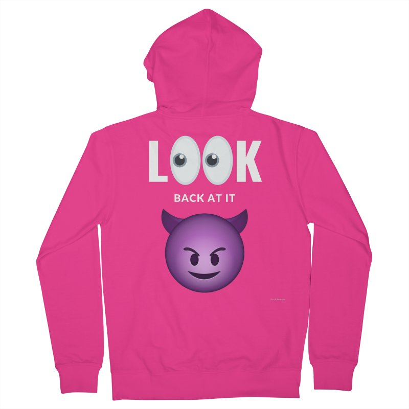I See You... Men's French Terry Zip-Up Hoody by Eric Washington's Merch Shop