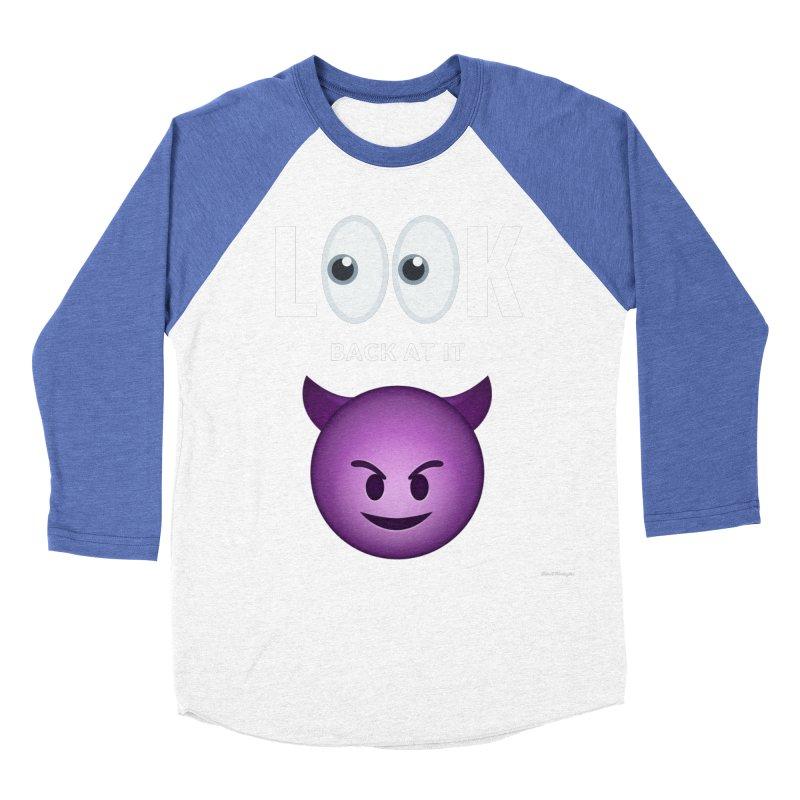 I See You... Women's Baseball Triblend Longsleeve T-Shirt by Eric Washington's Merch Shop