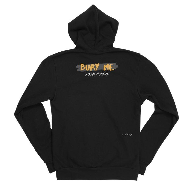 with pride Men's Sponge Fleece Zip-Up Hoody by Eric Washington's Merch Shop