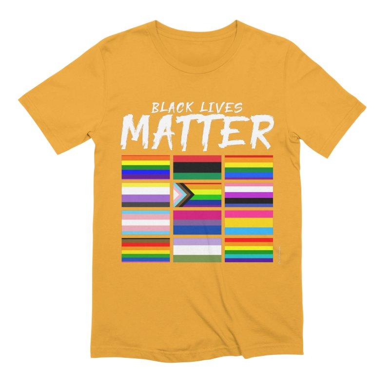 ALL BLM Men's Extra Soft T-Shirt by Eric Washington's Merch Shop