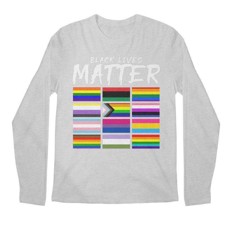 ALL BLM Men's Regular Longsleeve T-Shirt by Eric Washington's Merch Shop