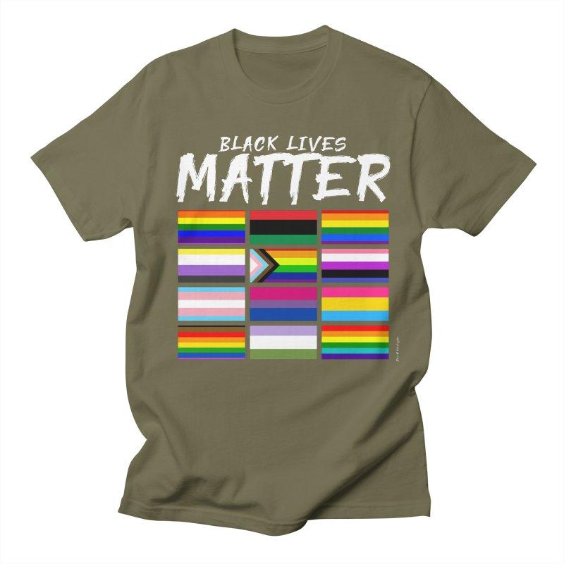 ALL BLM Women's Regular Unisex T-Shirt by Eric Washington's Merch Shop
