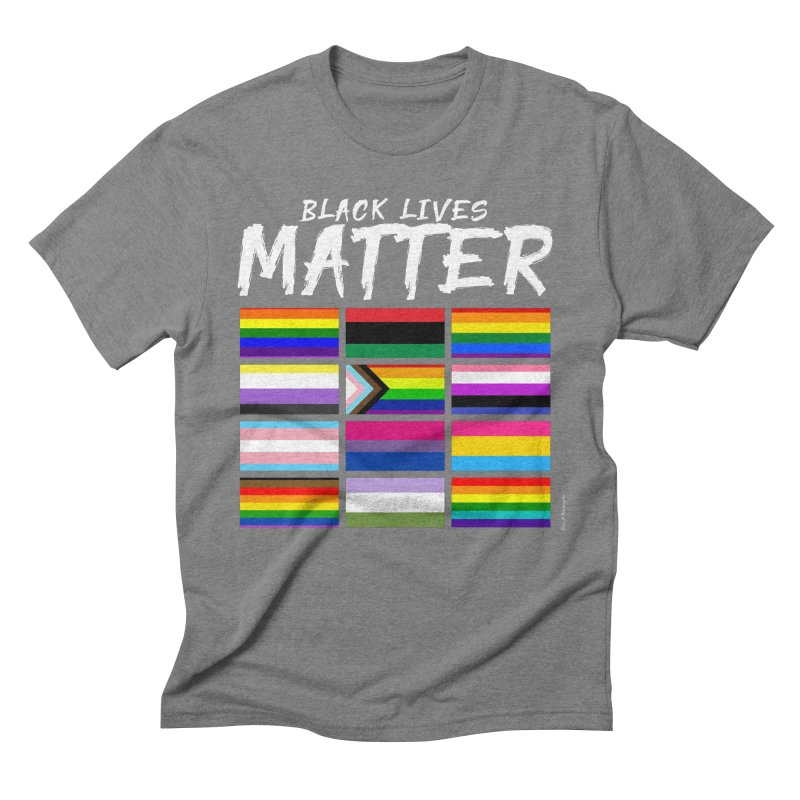 ALL BLM Men's Triblend T-Shirt by Eric Washington's Merch Shop
