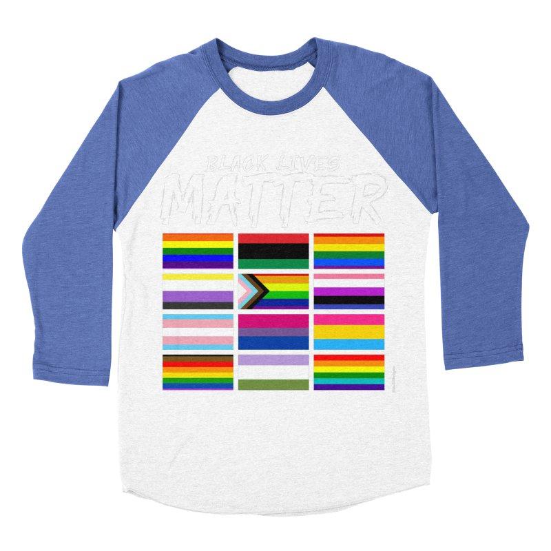 ALL BLM Women's Baseball Triblend Longsleeve T-Shirt by Eric Washington's Merch Shop