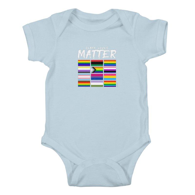 ALL BLM Kids Baby Bodysuit by Eric Washington's Merch Shop