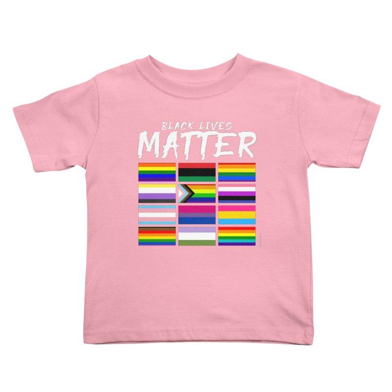 ALL BLM Kids Toddler T-Shirt by Eric Washington's Merch Shop