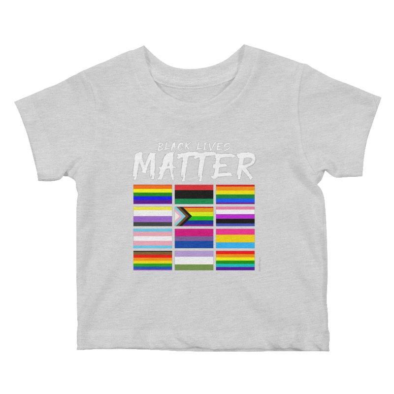 ALL BLM Kids Baby T-Shirt by Eric Washington's Merch Shop