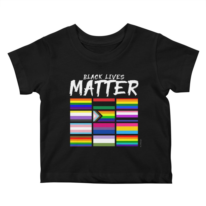 ALL BLM Kids Baby T-Shirt by Eric Washington's Merch Shop