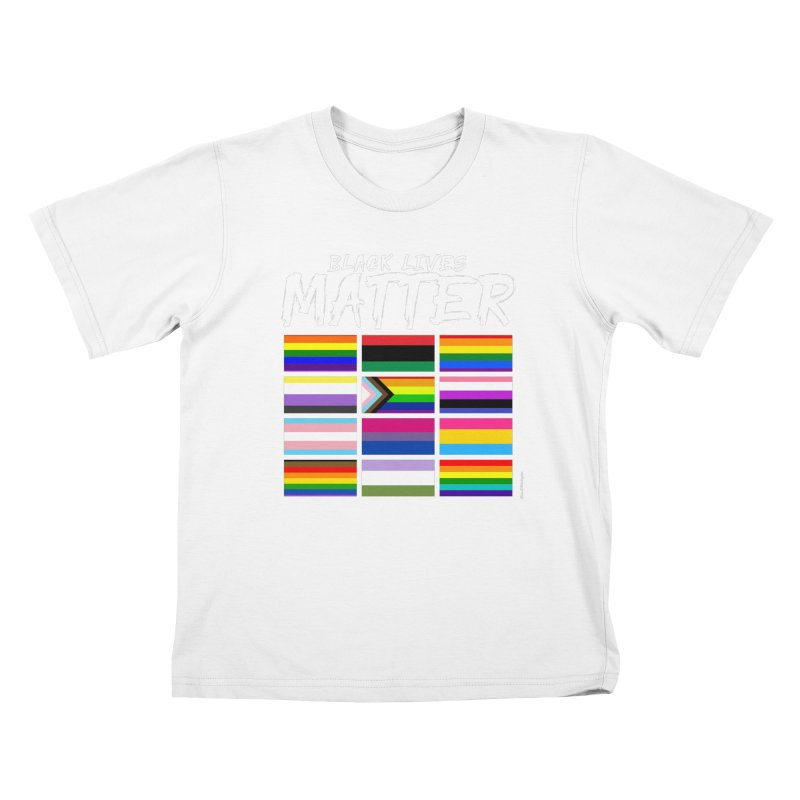 ALL BLM Kids T-Shirt by Eric Washington's Merch Shop