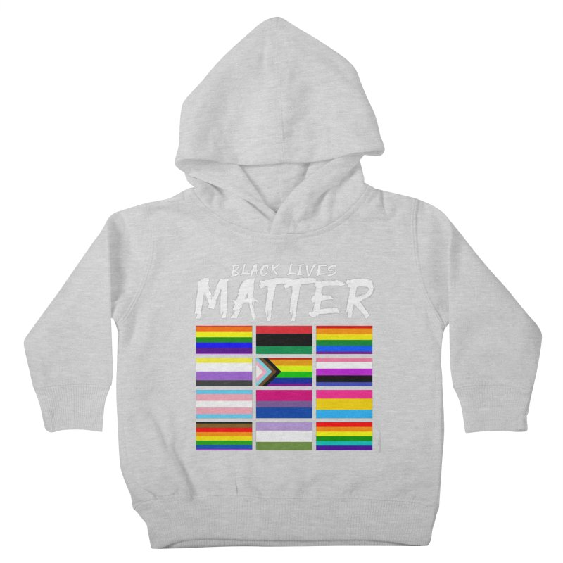 ALL BLM Kids Toddler Pullover Hoody by Eric Washington's Merch Shop