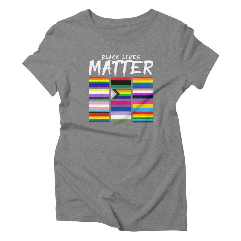 ALL BLM Women's Triblend T-Shirt by Eric Washington's Merch Shop