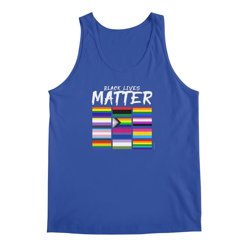 ALL BLM Men's Regular Tank by Eric Washington's Merch Shop