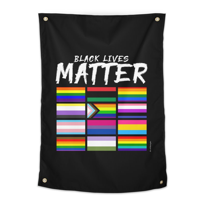 ALL BLM Home Tapestry by Eric Washington's Merch Shop