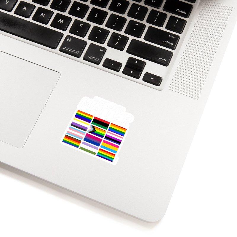 ALL BLM Accessories Sticker by Eric Washington's Merch Shop