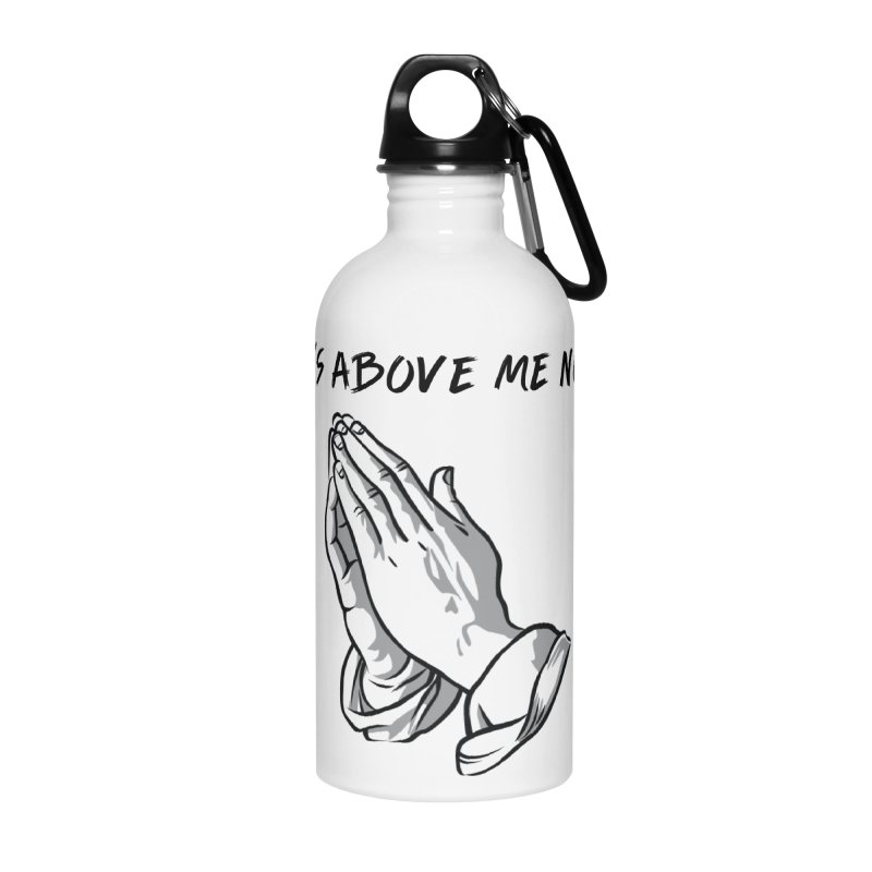 "'it's above me now"" Accessories Water Bottle by Eric Washington's Merch Shop"