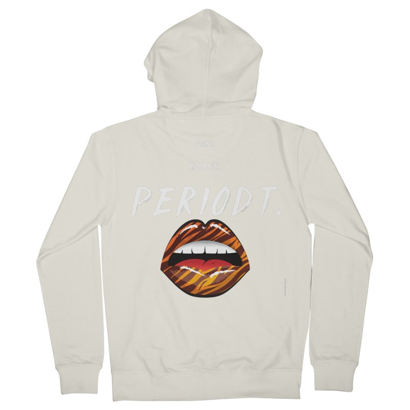 PERIODT. Women's French Terry Zip-Up Hoody by Eric Washington's Merch Shop