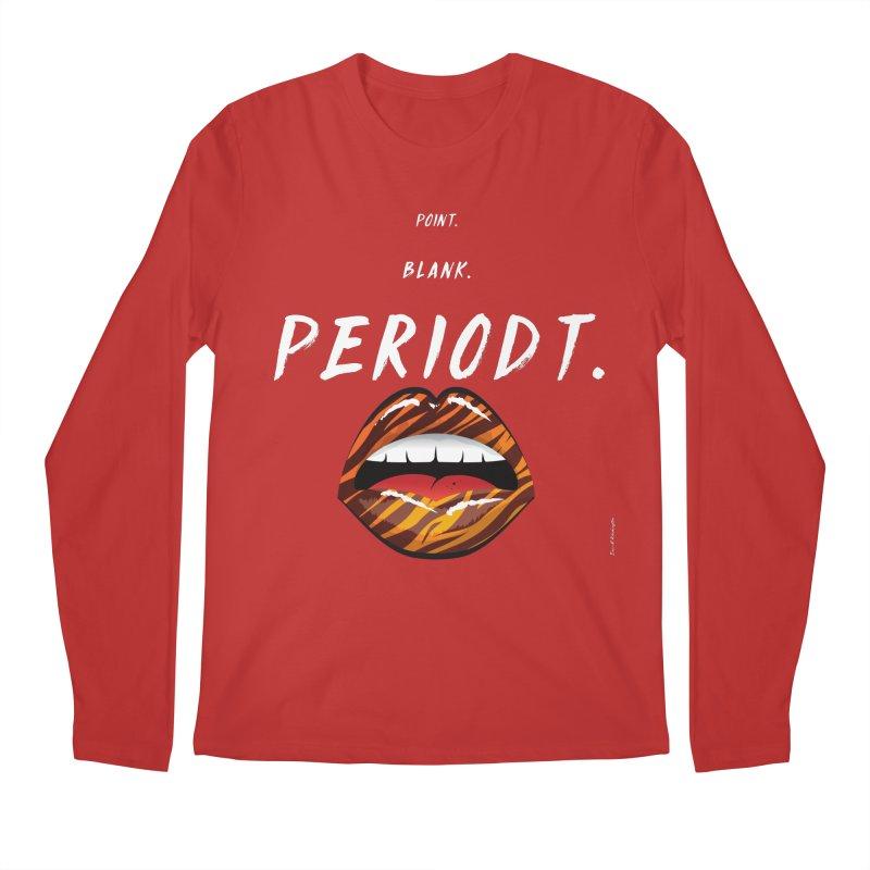 PERIODT. Men's Regular Longsleeve T-Shirt by Eric Washington's Merch Shop