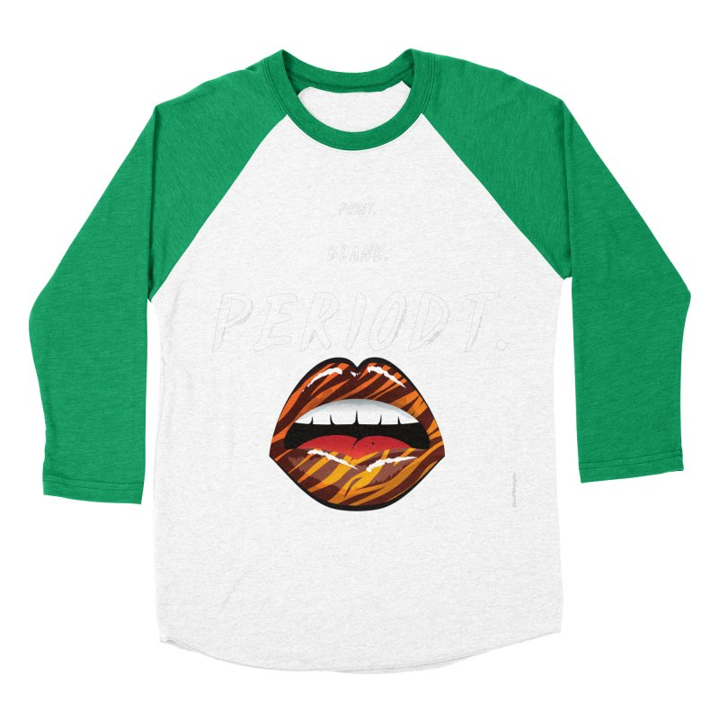 PERIODT. Men's Baseball Triblend Longsleeve T-Shirt by Eric Washington's Merch Shop