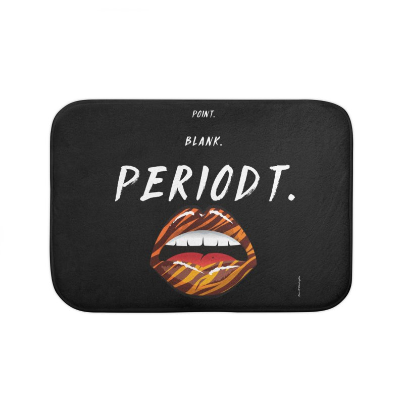 PERIODT. Home Bath Mat by Eric Washington's Merch Shop