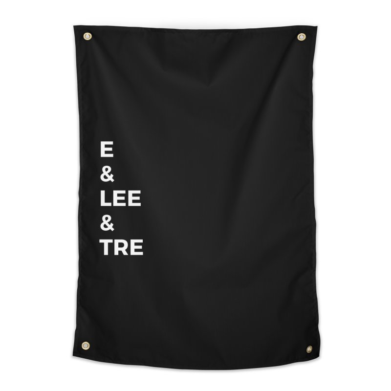 Eric Washington x The Elite Podcast - The Cast #1 Home Tapestry by Eric Washington's Merch Shop