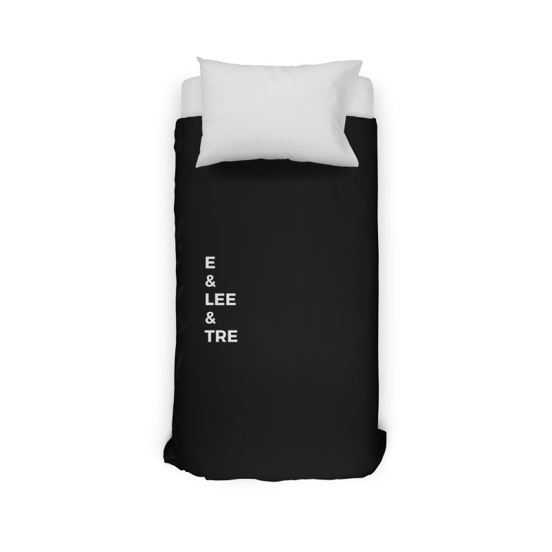 Eric Washington x The Elite Podcast - The Cast #1 Home Duvet by Eric Washington's Merch Shop