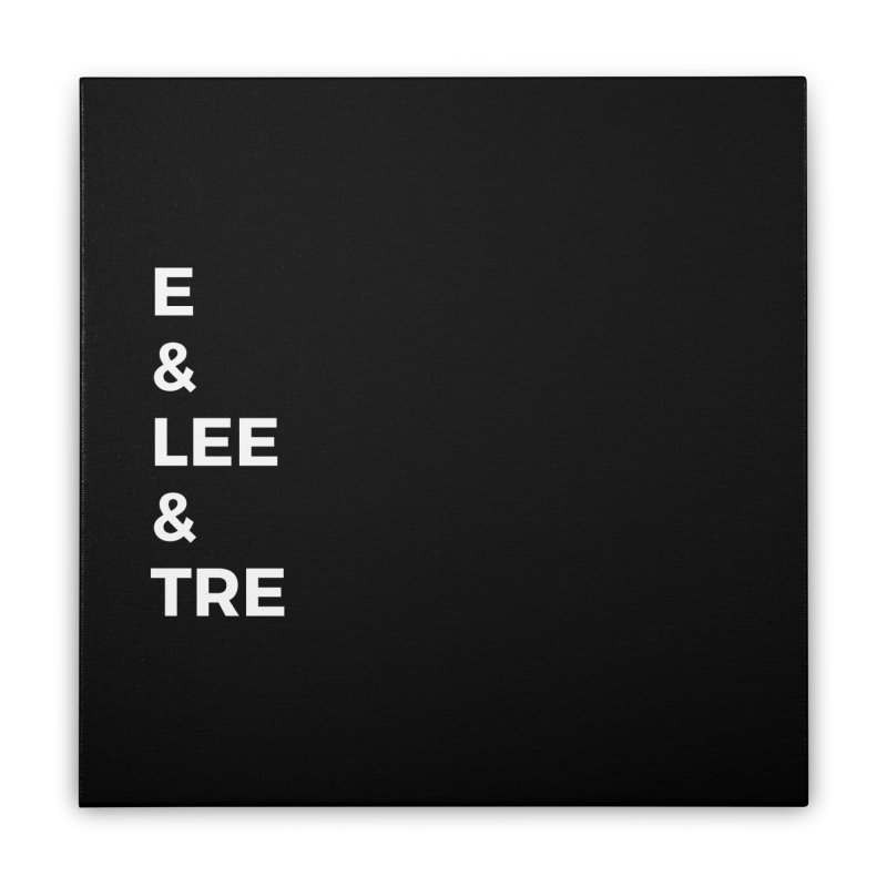 Eric Washington x The Elite Podcast - The Cast #1 Home Stretched Canvas by Eric Washington's Merch Shop