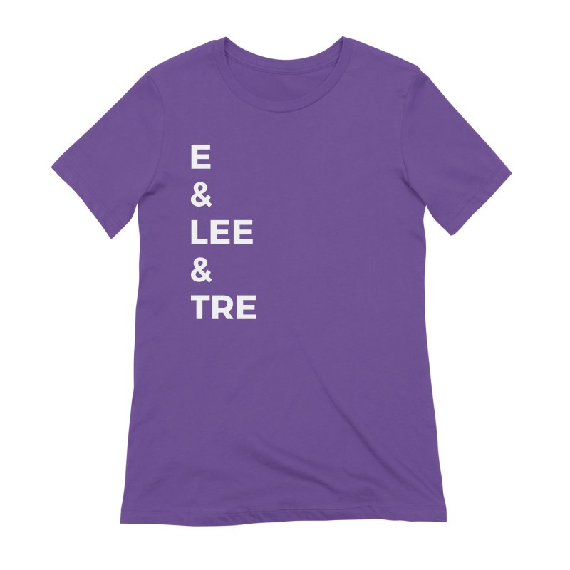 Eric Washington x The Elite Podcast - The Cast #1 Women's Extra Soft T-Shirt by Eric Washington's Merch Shop