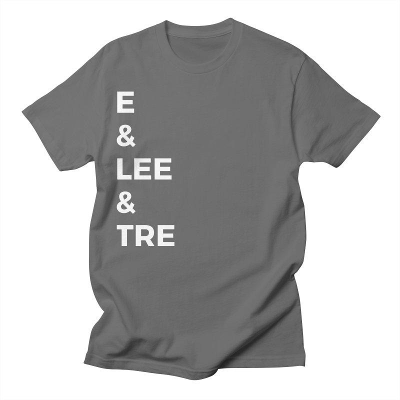 Eric Washington x The Elite Podcast - The Cast #1 Men's T-Shirt by Eric Washington's Merch Shop