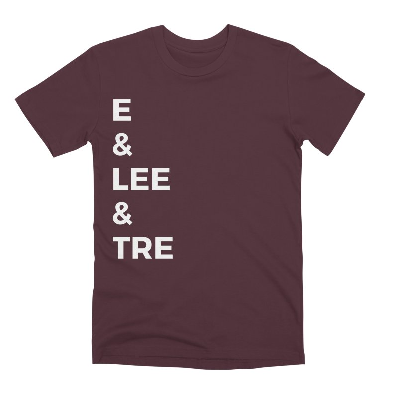 Eric Washington x The Elite Podcast - The Cast #1 Men's Premium T-Shirt by Eric Washington's Merch Shop
