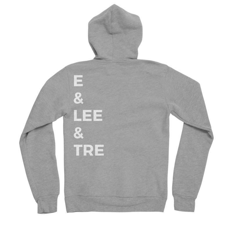 Eric Washington x The Elite Podcast - The Cast #1 Women's Sponge Fleece Zip-Up Hoody by Eric Washington's Merch Shop