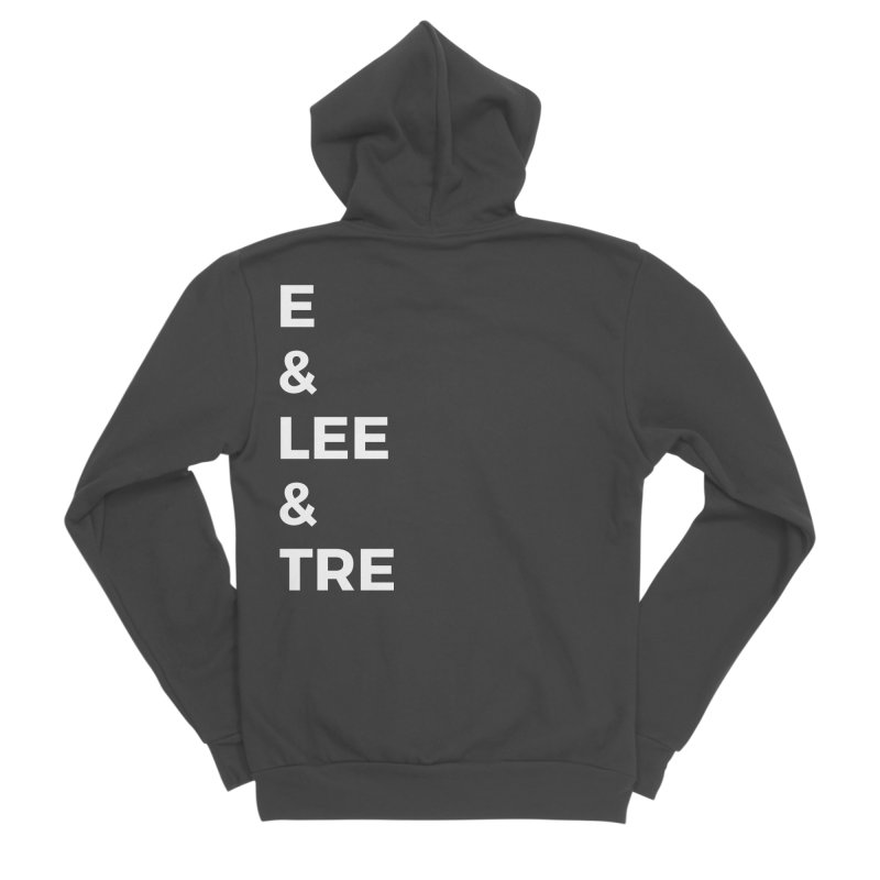 Eric Washington x The Elite Podcast - The Cast #1 Men's Sponge Fleece Zip-Up Hoody by Eric Washington's Merch Shop