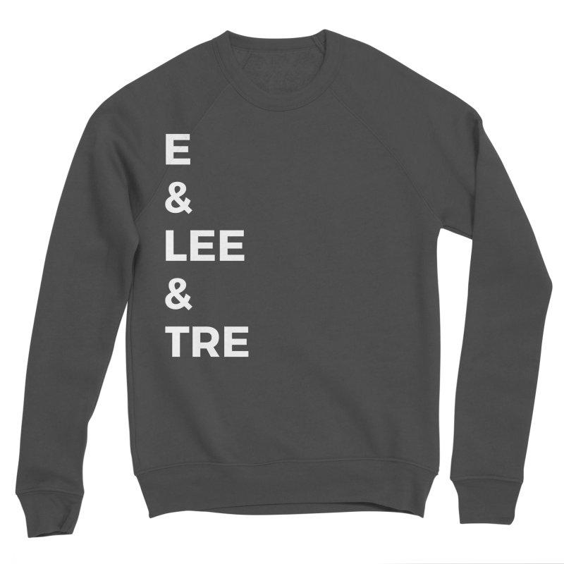 Eric Washington x The Elite Podcast - The Cast #1 Men's Sponge Fleece Sweatshirt by Eric Washington's Merch Shop