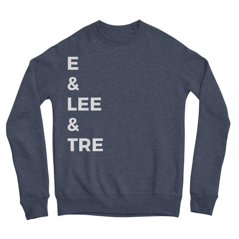 Eric Washington x The Elite Podcast - The Cast #1 Women's Sponge Fleece Sweatshirt by Eric Washington's Merch Shop