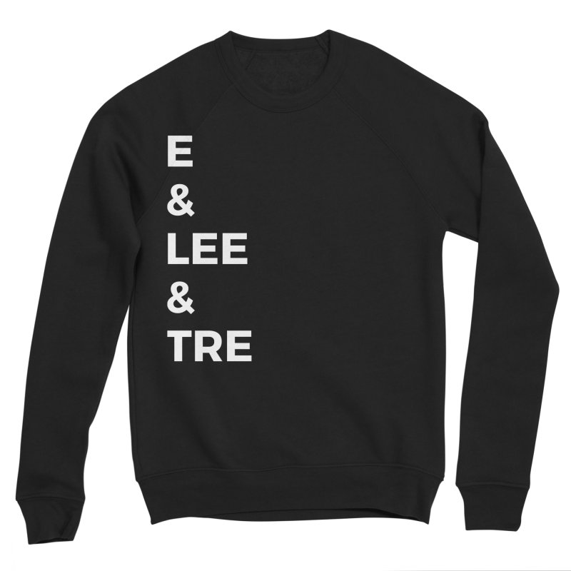 Eric Washington x The Elite Podcast - The Cast #1 Women's Sponge Fleece Sweatshirt by Eric Washington's Merch Shop