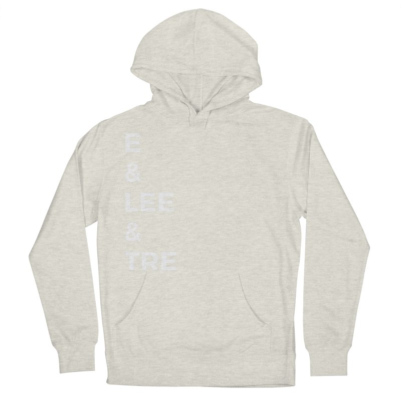 Eric Washington x The Elite Podcast - The Cast #1 Women's French Terry Pullover Hoody by Eric Washington's Merch Shop