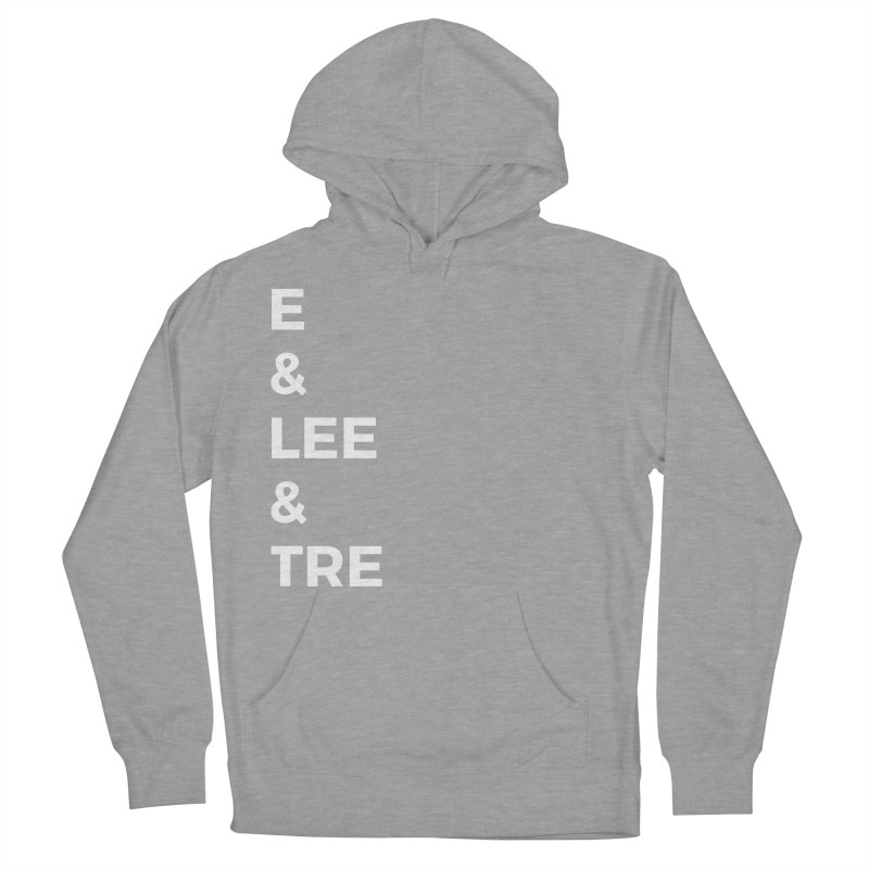 Eric Washington x The Elite Podcast - The Cast #1 Men's French Terry Pullover Hoody by Eric Washington's Merch Shop