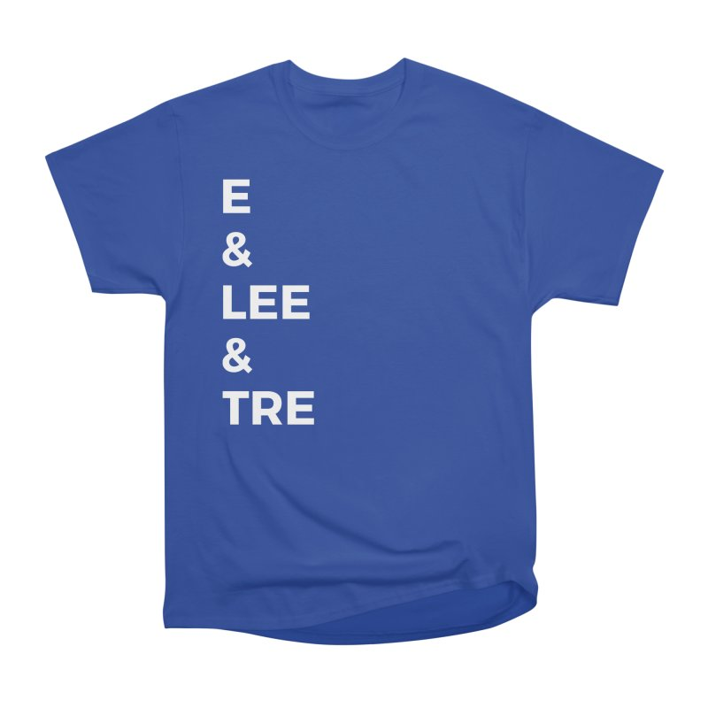 Eric Washington x The Elite Podcast - The Cast #1 Women's Heavyweight Unisex T-Shirt by Eric Washington's Merch Shop