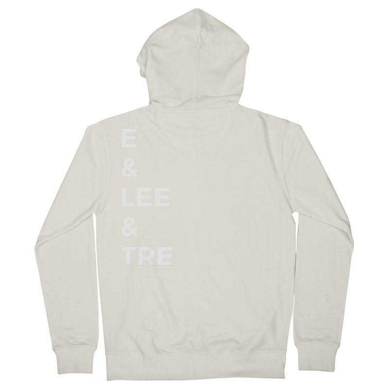 Eric Washington x The Elite Podcast - The Cast #1 Women's French Terry Zip-Up Hoody by Eric Washington's Merch Shop