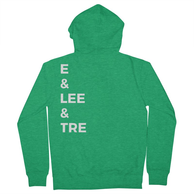 Eric Washington x The Elite Podcast - The Cast #1 Men's French Terry Zip-Up Hoody by Eric Washington's Merch Shop