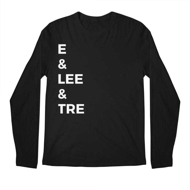 Eric Washington x The Elite Podcast - The Cast #1 Men's Regular Longsleeve T-Shirt by Eric Washington's Merch Shop