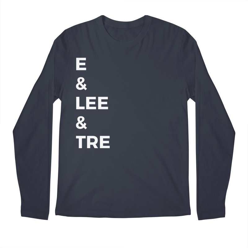 Eric Washington x The Elite Podcast - The Cast #1 Men's Regular Longsleeve T-Shirt by Eric Washington's Merch Shop