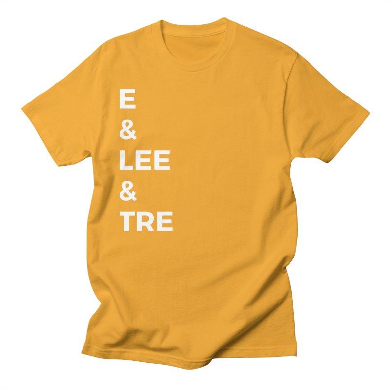 Eric Washington x The Elite Podcast - The Cast #1 Men's Regular T-Shirt by Eric Washington's Merch Shop