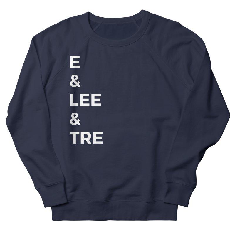 Eric Washington x The Elite Podcast - The Cast #1 Women's French Terry Sweatshirt by Eric Washington's Merch Shop
