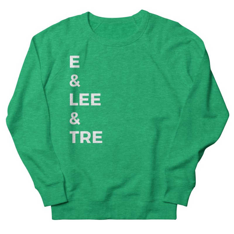 Eric Washington x The Elite Podcast - The Cast #1 Men's French Terry Sweatshirt by Eric Washington's Merch Shop