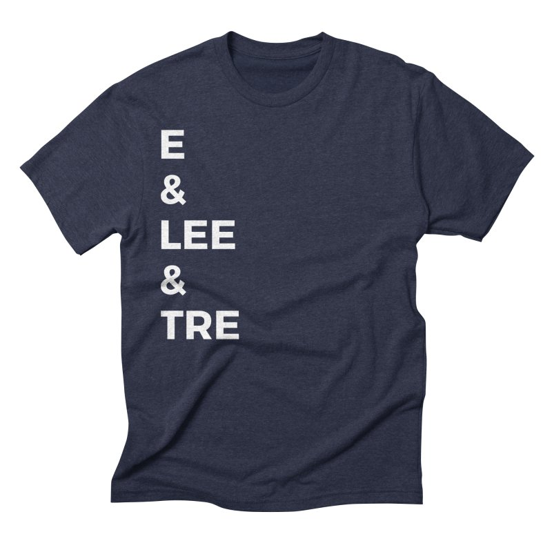 Eric Washington x The Elite Podcast - The Cast #1 Men's Triblend T-Shirt by Eric Washington's Merch Shop