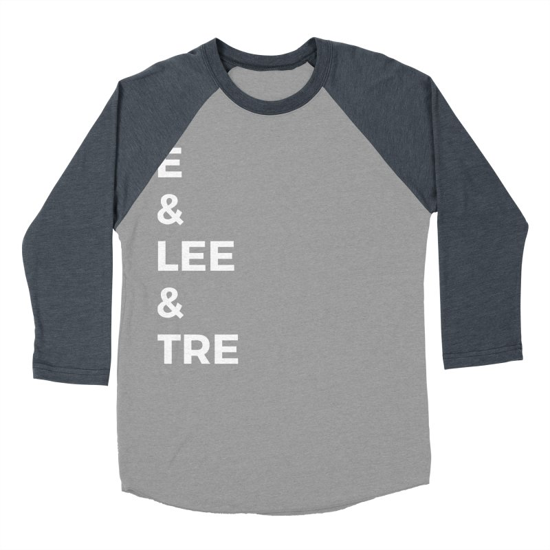 Eric Washington x The Elite Podcast - The Cast #1 Men's Baseball Triblend Longsleeve T-Shirt by Eric Washington's Merch Shop
