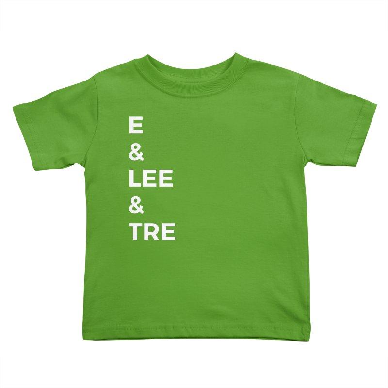 Eric Washington x The Elite Podcast - The Cast #1 Kids Toddler T-Shirt by Eric Washington's Merch Shop