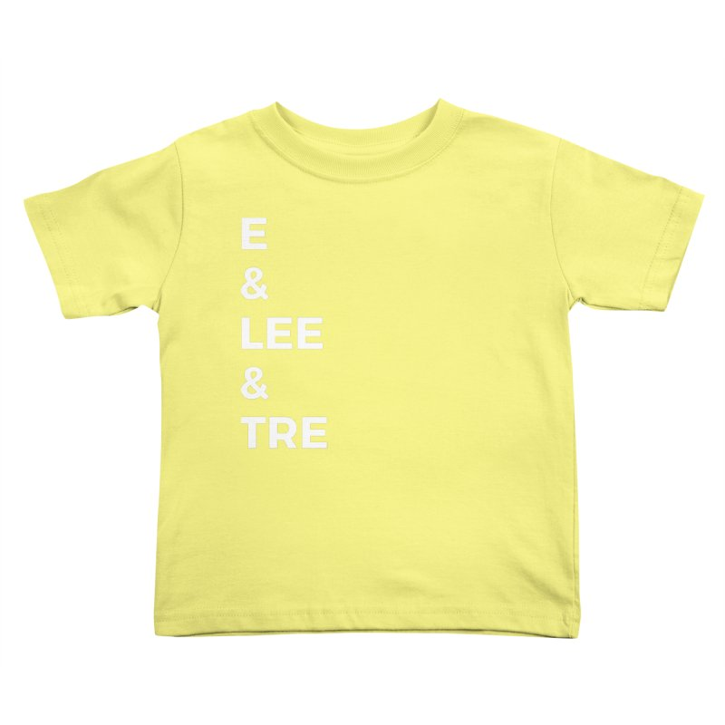 Eric Washington x The Elite Podcast - The Cast #1 Kids Toddler T-Shirt by Eric Washington's Merch Shop